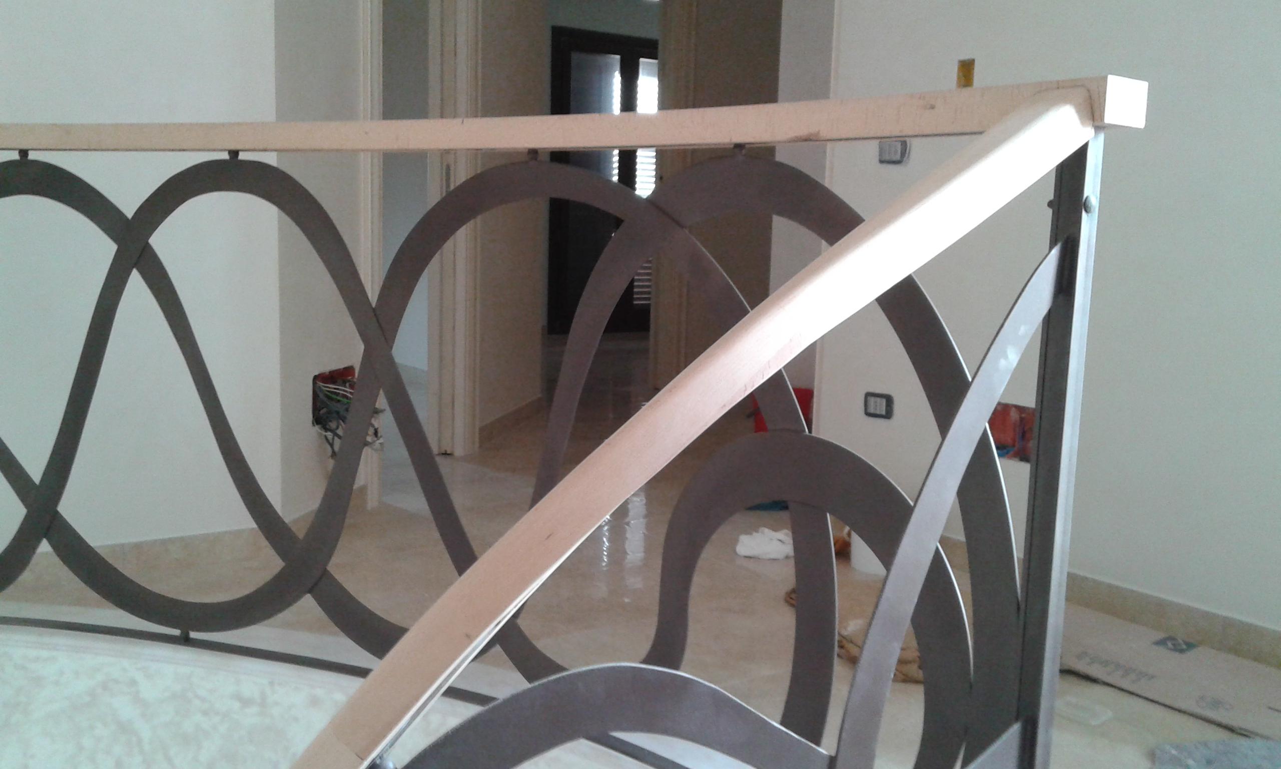 Ringhiere Scale Su Misura Lecce Racale Progetto Casa