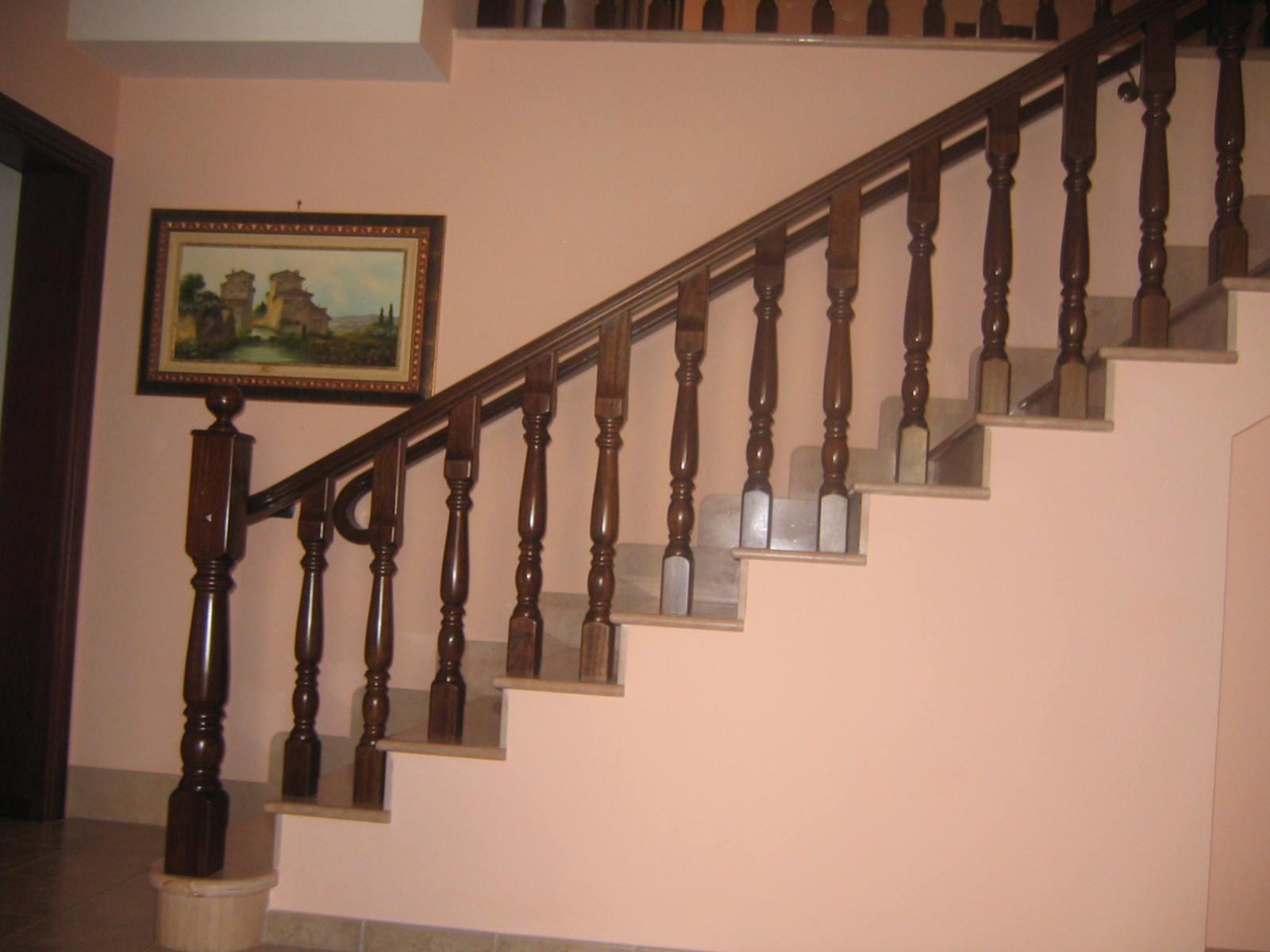 Ringhiere scale su misura lecce racale progetto casa - Ringhiere in legno per esterni ...
