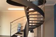 Scala a chiocciola elicoidale - Progetto Casa - Lecce - Racale