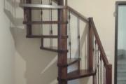 Scale a chiocciola a pianta Quadra - Progetto Casa - Lecce - Racale