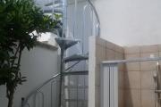 Scala esterna - Progetto Casa - Lecce - Racale