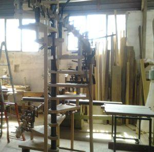 Il laboratorio artigianale di Progetto Casa